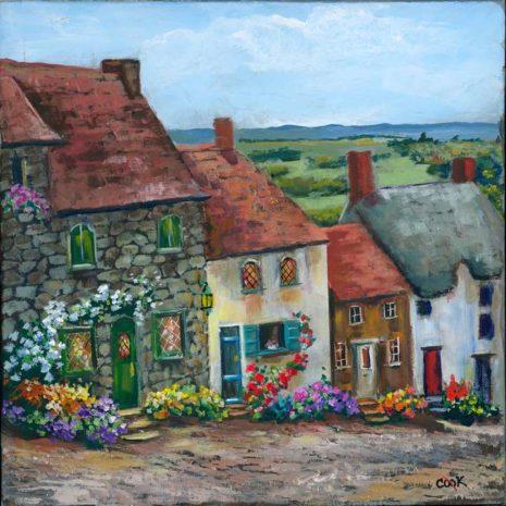 Cottages On Coblestone Lane 720h60