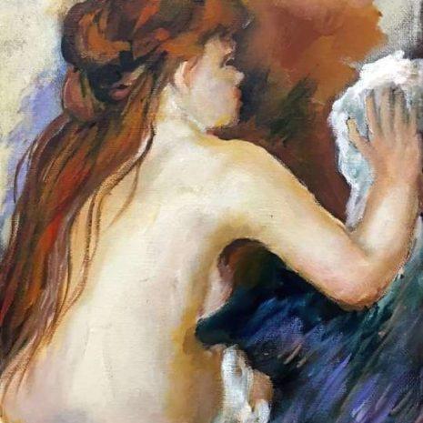 Renoir's Nude Bathing CR 720h60