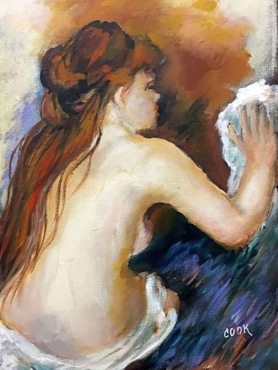 Renoir's Nude Bathing