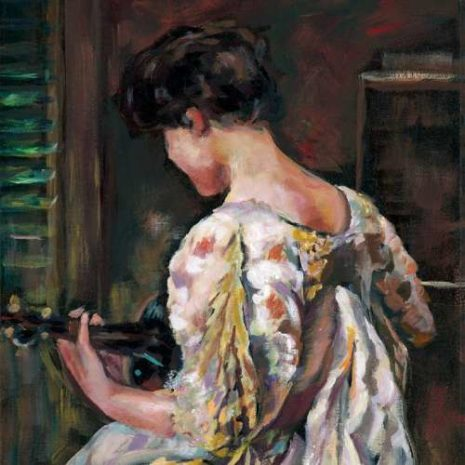 Lady With A Guitar CR 500s60