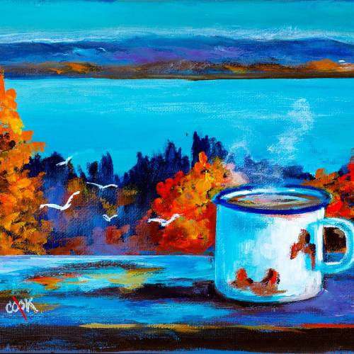 River View Coffee Cup
