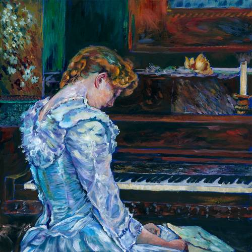 Julie Sonata the Pianist