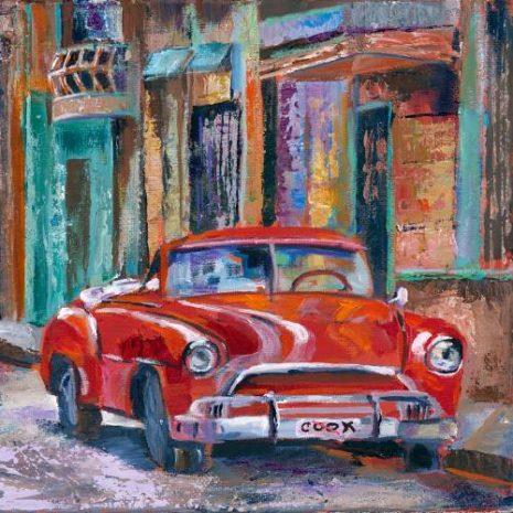 Vintage Auto Cuba FI 500s70