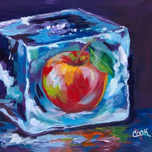 Apple in an Ice Cube