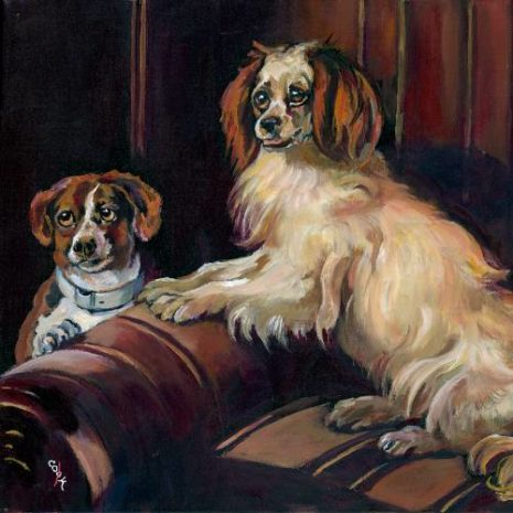 Bony And Var A Dog Portrait 500s70