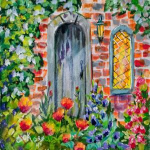 English Poppy Garden – QQ #45