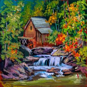 Glade Creek Grist Mill West Virginia – QQ #36