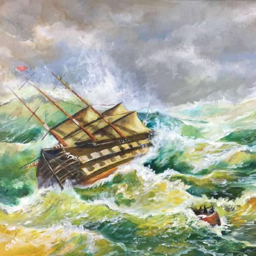 Heartbreak at Sea – A Shipwreck – Downloadable