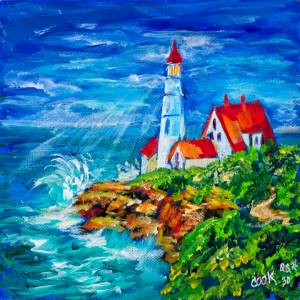Lighthouse in Maine – QQ #30