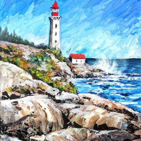 Lighthouse On The Rocks FI 500s70