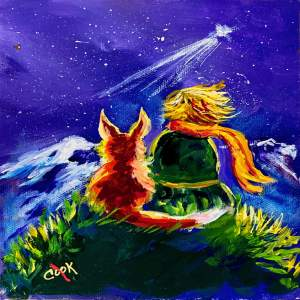 Little Prince and Fox – QQ #3