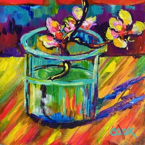 Van Gogh Colorful Almond Buds