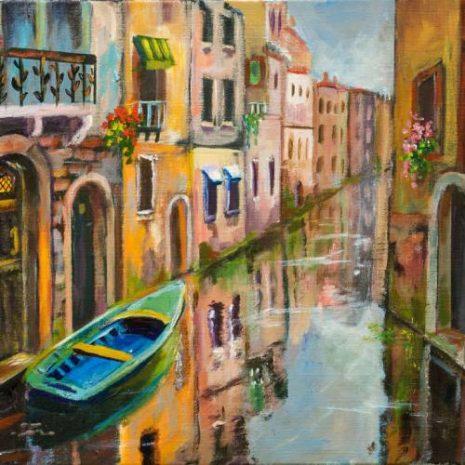 Venice Canal Reflection FI 500s70