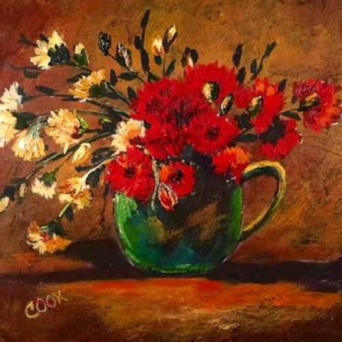Van Gogh's Mug of Carnations