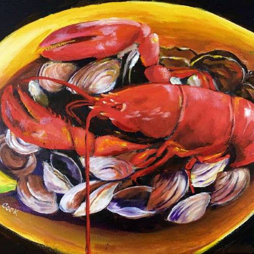 Lobster and Clam Dinner – Downloadable