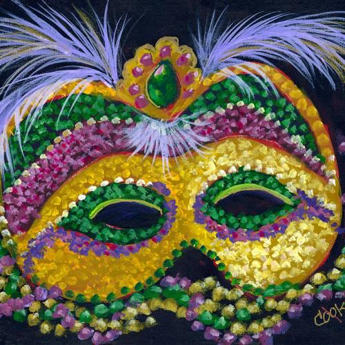 Mardi Gras Mask – IAMA