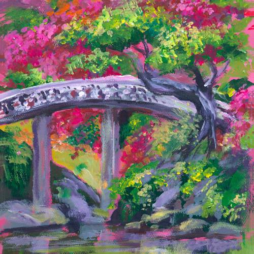 Botanical Bridge – Cropped Challenge #2