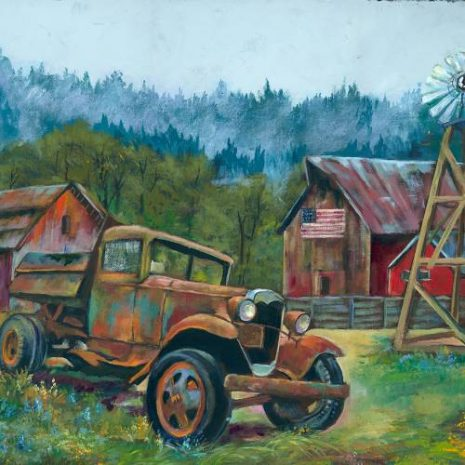 Old Truck And Barns FI 500s70