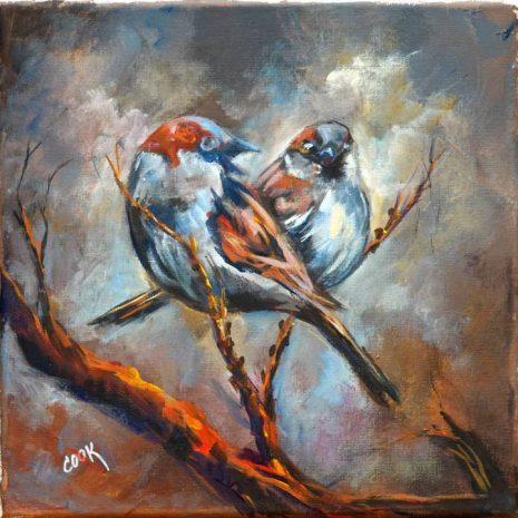 Love Bird Sparrow CR 720h70