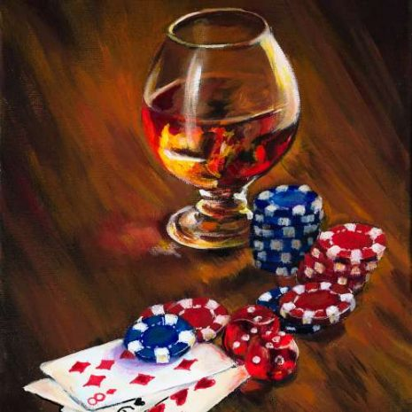 Whiskey Cards Chips And Dice Featured 500s60