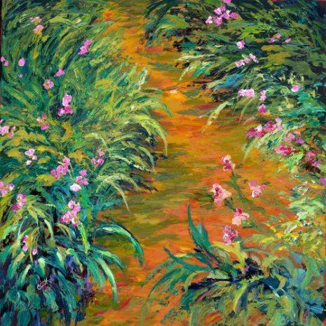 Iris By Claude Monet FI 500s70