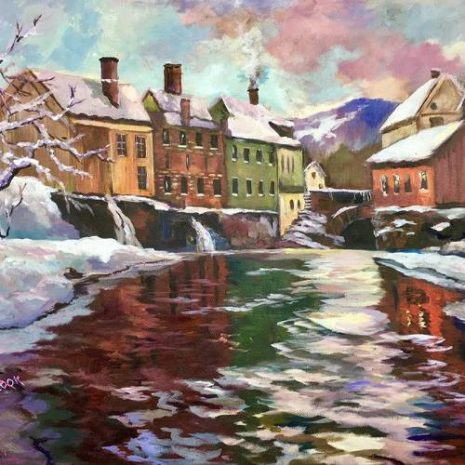 River Canal In Winter FI 500s70