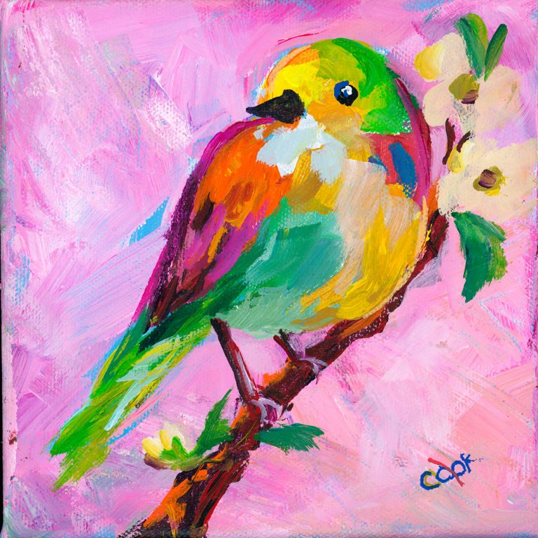 The Printed Birds Hop #1 Tutorial