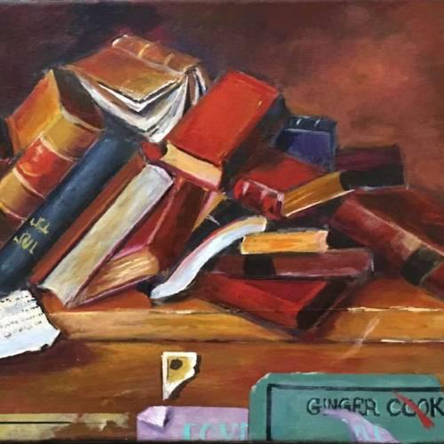 Bookshelf – A Still Life Study – Introduction