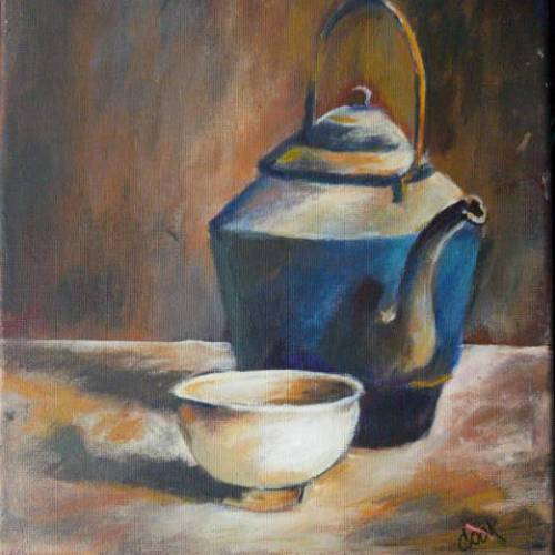 Cast Iron Teapot and Cup – Introduction