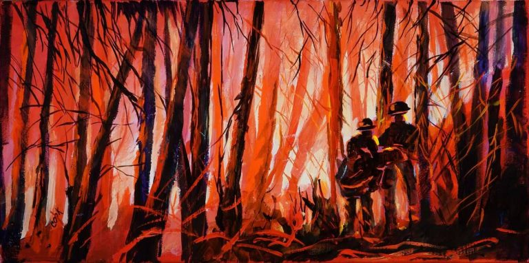 Fire Line a Tribute to Firefighters – Introduction