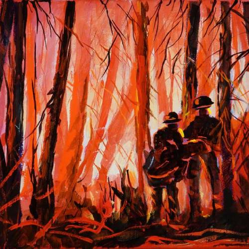 Fire Line a Tribute to the Firefighters – Downloadable