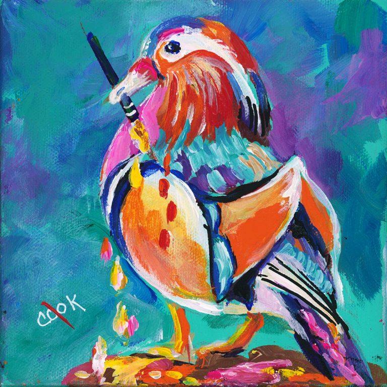 The Printed Birds Hop #2 Tutorial