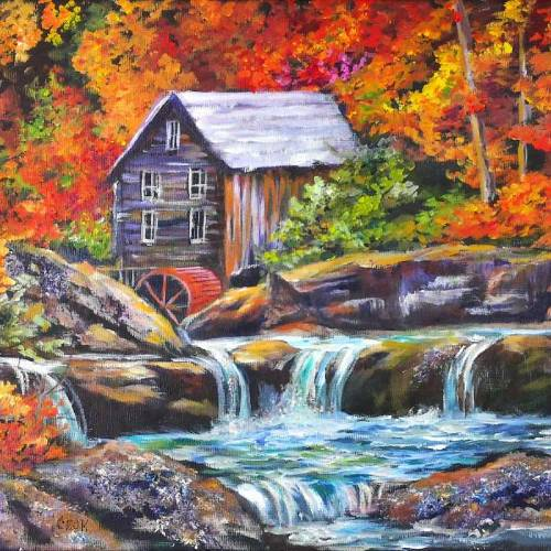 Old Mill in the Autumn – Introduction