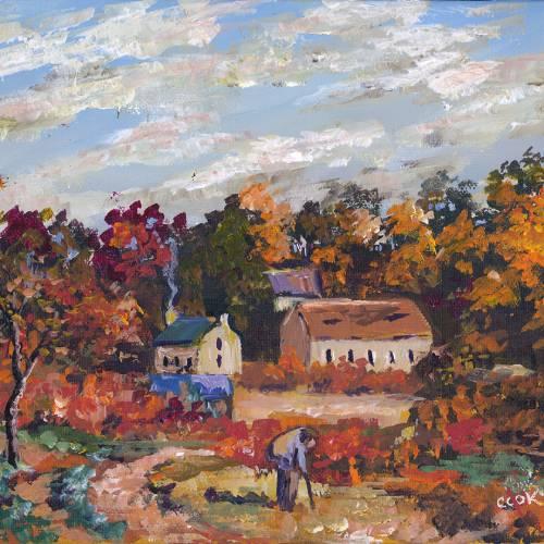 Autumn Farm in Provence – Tutorial