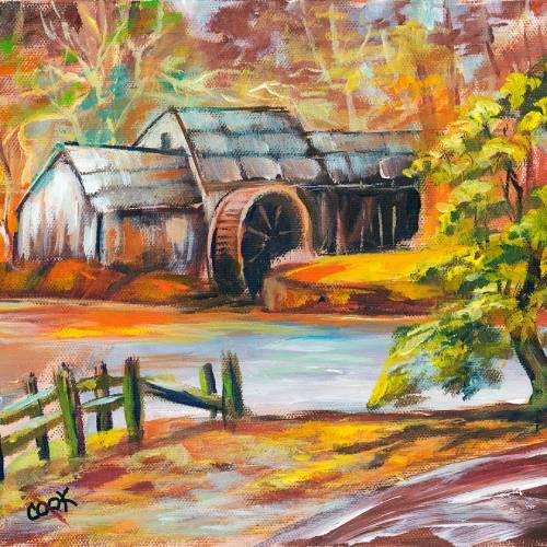 Grogan's Mill in the Autumn – Tutorial